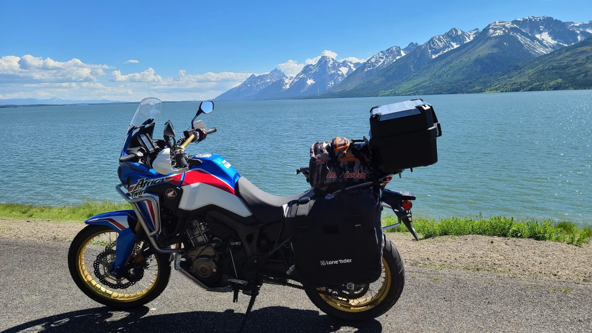 Epic Africa Twin camping trip through Yellowstone National Park (Part I)
